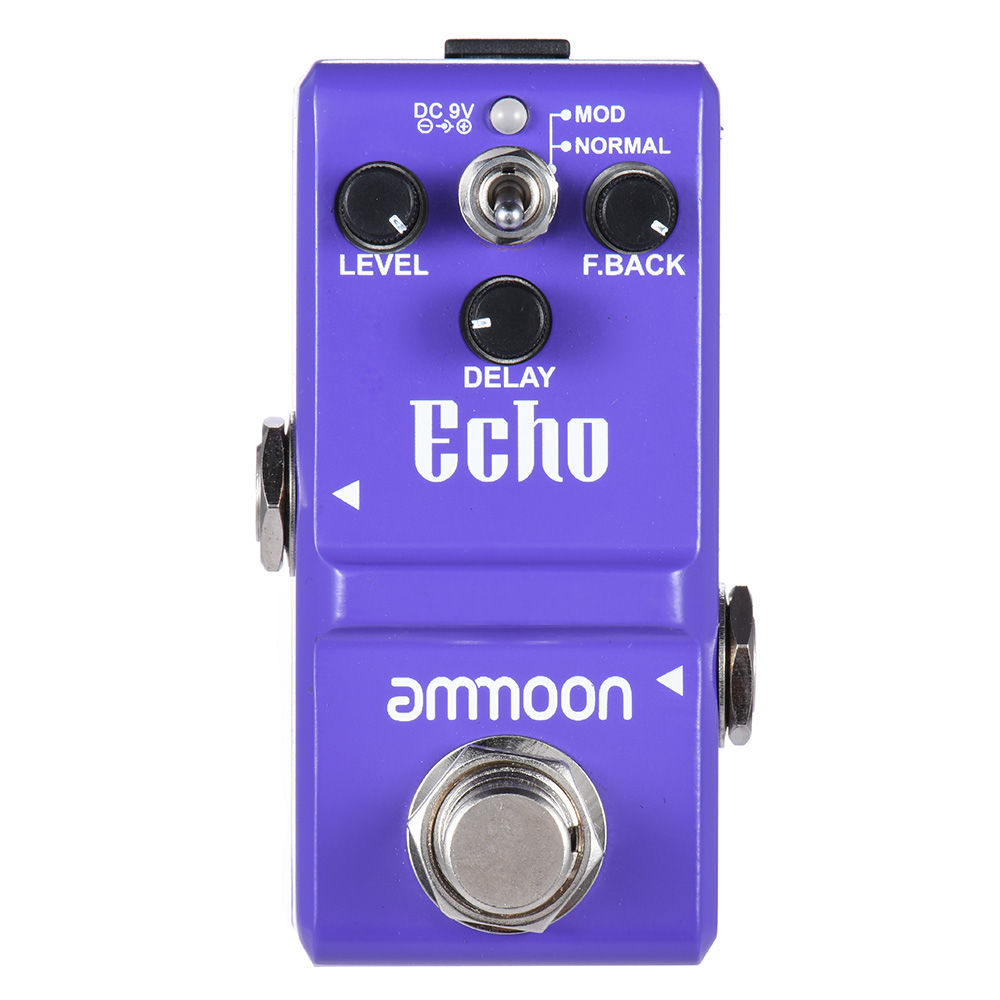 Image 5 - ammoon Series Guitar Effect Pedal Distortion/ Delay/ Chorus Effects Guitar Pedal  True Bypass Guitar AccessoriesGuitar Parts & Accessories   -