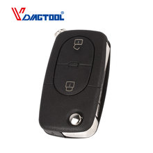 b243f53d7212 VDIAGTOOL 2 Buttons Remote Flip Car Key Cover Key Shell Round Blank For V W  Volkswagen Golf 4 5 6 Passat B5 B6 Polo Bora Touran