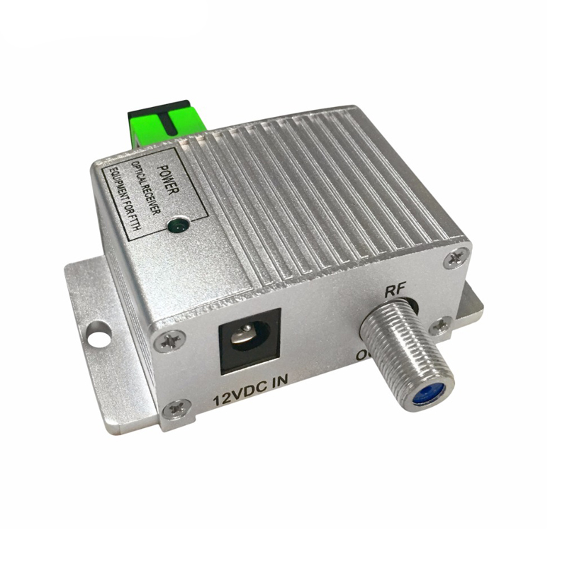 CATV FTTH mini fiber active Optical Receiver Node with power supply