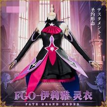 Fate/Grand Order Illyasviel Von Costume Halloween Cosplay New Year greetings  Dress Women