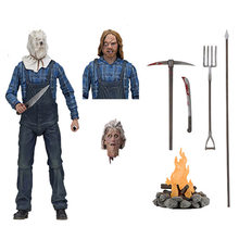 "NECA Jason Voorhees Friday the 13th Part 2 Ações PVC Figura 7 ""Horror Collectible Modelo Brinquedos(China)"