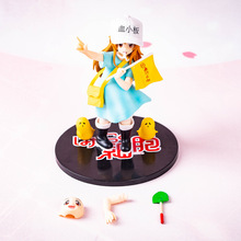 16CM Japanese anime figure Platelet Cells at Work! with flag action figure collectible model toy стоимость
