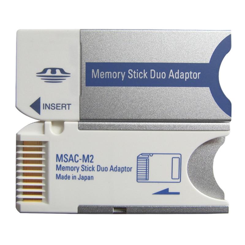 PSP קידום Memory Stick Pro Duo Memory Card מתאם עבור PSP / מצלמה MS כרטיס זיכרון Stick Pro Duo מתאם (1)