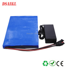 Thin size 36V 250W 500W customized lithium battery pack 10Ah 11Ah 12Ah 13Ah 14Ah escooter skateboard with charger