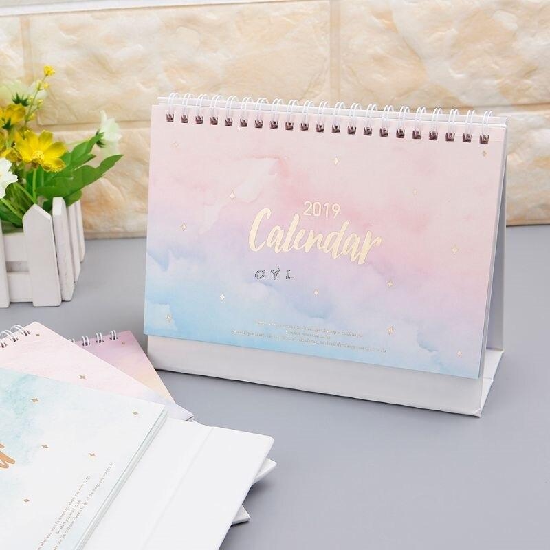Office & School Supplies Logical 2019 Lovely Christmas Calendar Diy Desktop Calendar Agenda Organizer Daily Schedule Planner 2018.09~2019.12