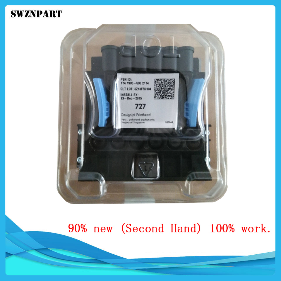Second Hand Printhead For HP T920 T930 T1500 T2500 T3500 B3P06Y T970 For HP727 hp hp 920