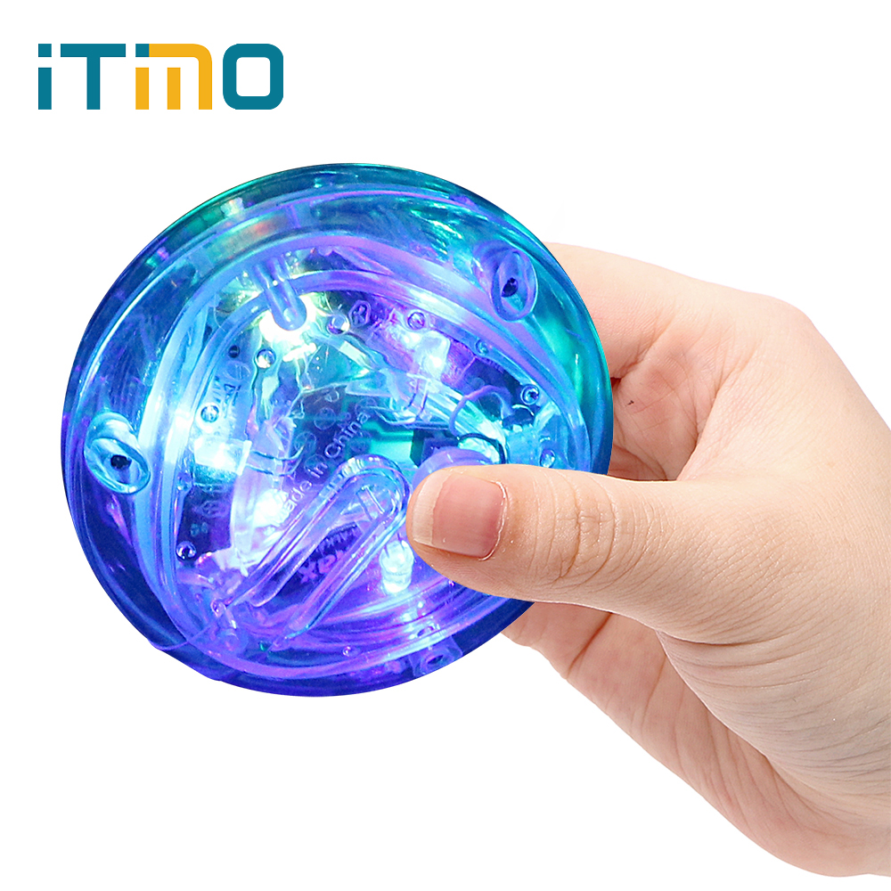 ITimo LED Flashing Lamp Take A Bath Children's Toys Playing Light Waterproof Toy Lamp Tub Party Light Novelty Lighting