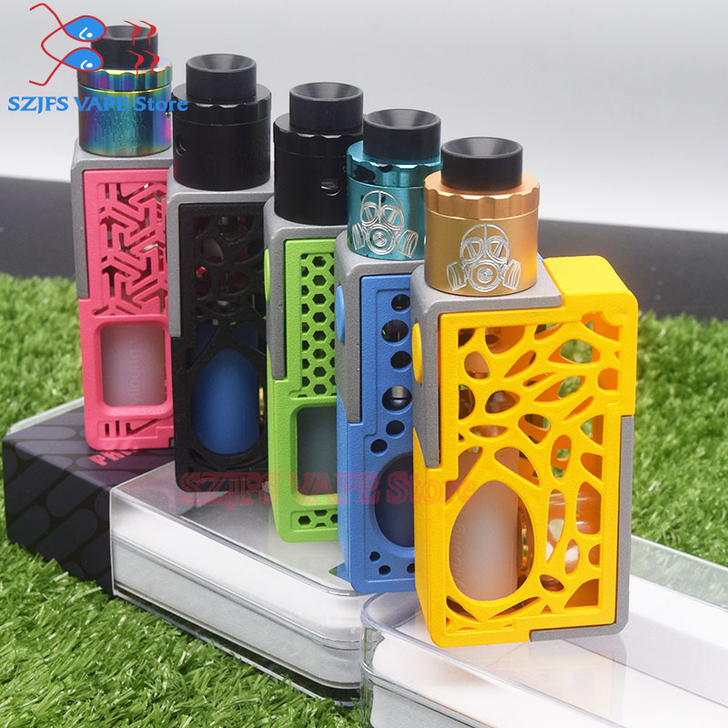 Lightest Electronic Cigarettes Box Mod 510 Thread 25mm Diameter18650 Battery Vape Vs Tesla WYE 85W Mod/Swell Mod/Luxe TC MOD