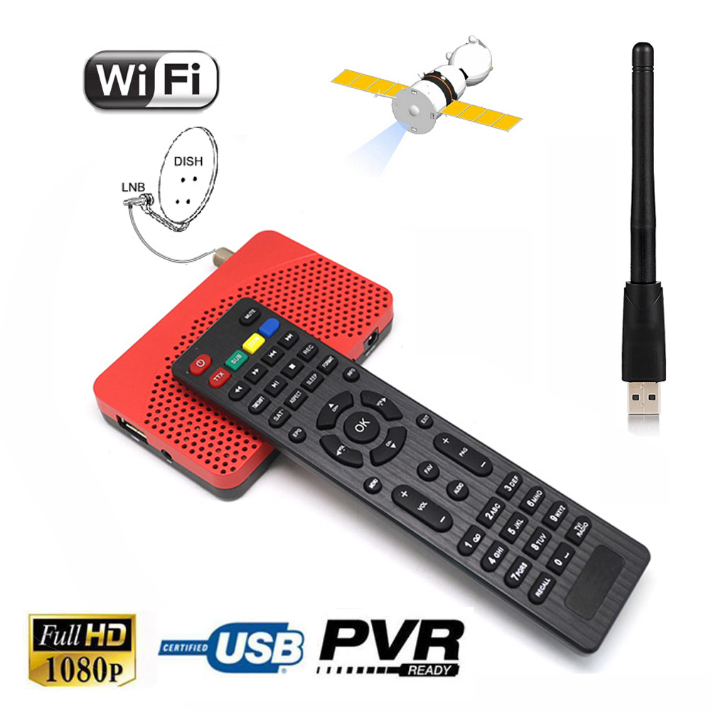 ᐃMini Size FTA ༼ ộ_ộ ༽ DVB-S2 DVB-S2 HD Digital Satellite Receiver 웃 유 IPTV Combo Support IKS ...