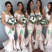2019 sexy cheap plus size mermaid sequined prom vestidos de festa vestido longo para cas bridesmaid dresses