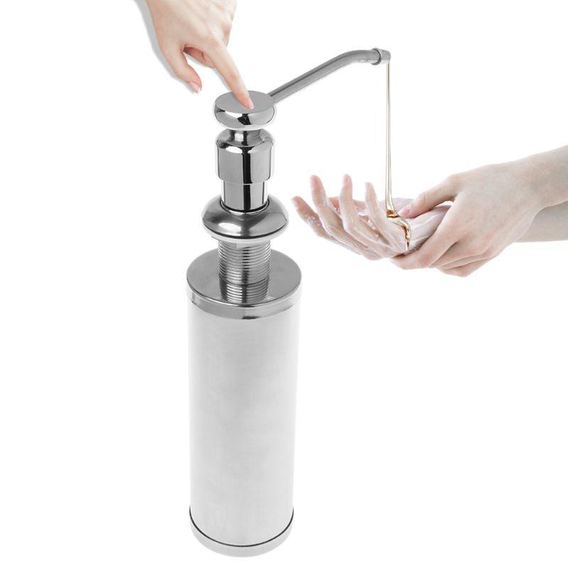 Kitchen Soap Dispenser Bottle: Kitchen Liquid Soap Dispenser Countertop Bottle Lotion
