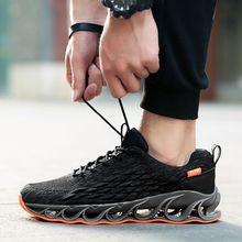 Men Sneakers Running Shoes  Fashion Trend Elastic Male Sport Breathable Outdoor Shoe Z