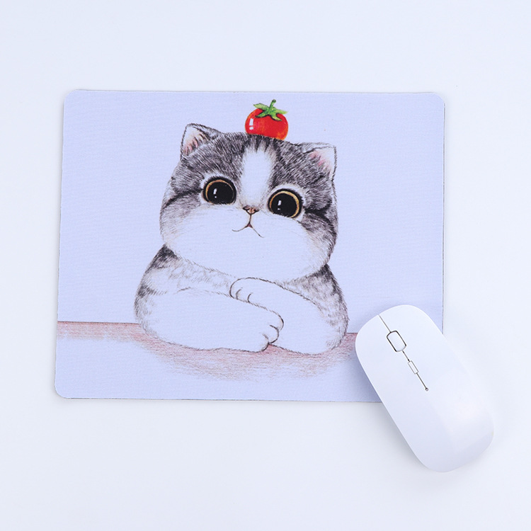 Tapis De Souris New New Arrival Mousepad 2019 Kawaii Cute Cartoon Mouse Pad Desktop Square Keboard Office Internet Bar 26x21cm Mouse & Keyboards