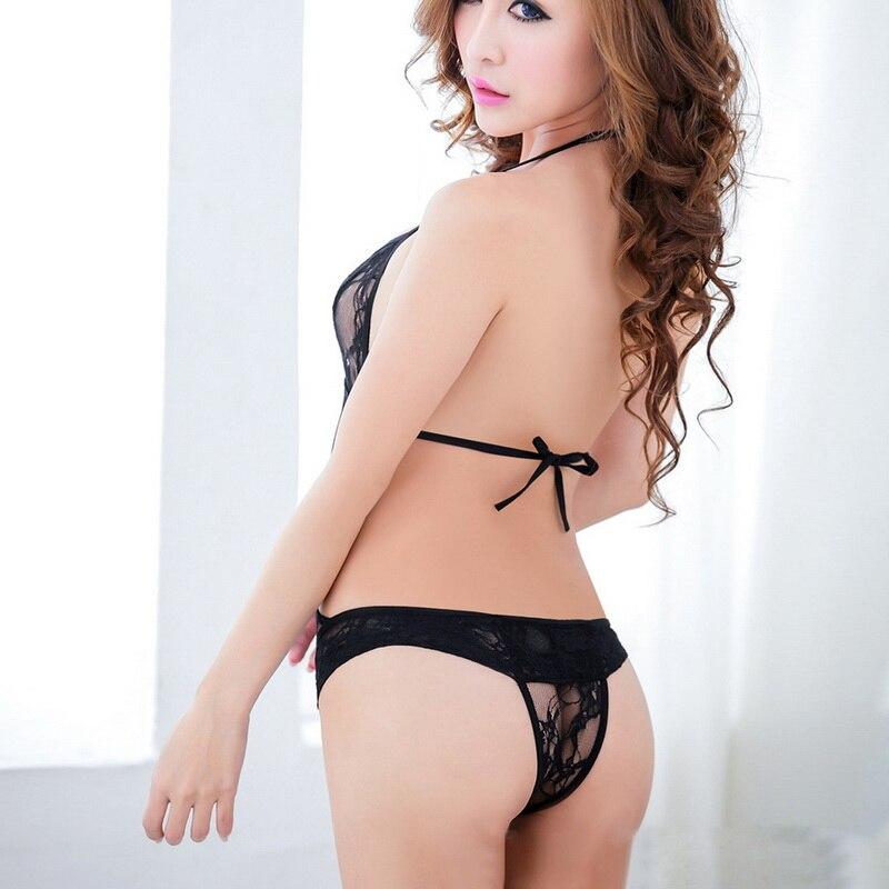 Asian women in sexy lingerie