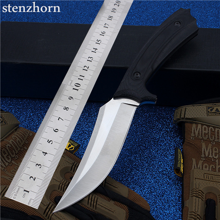 Stenzhorn 2017 New Quality Fruit Small Straight Is Outdoor Camping Self-defense Wild Mountain High Hardness Steel Survival Knife stenzhorn 2017 new real authentic self defense wilderness survival high hardness knife with wild fruit folding outdoor the devil