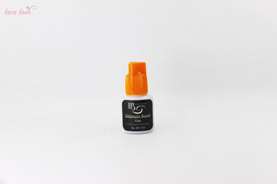Makeup Expressive Free Shipping I-beauty 5 Bottles/lot Ib Ultimate Bond Glue Individual Fast Drying Eyelash Extensions Glue Orange Cap 5ml/bottle To Rank First Among Similar Products
