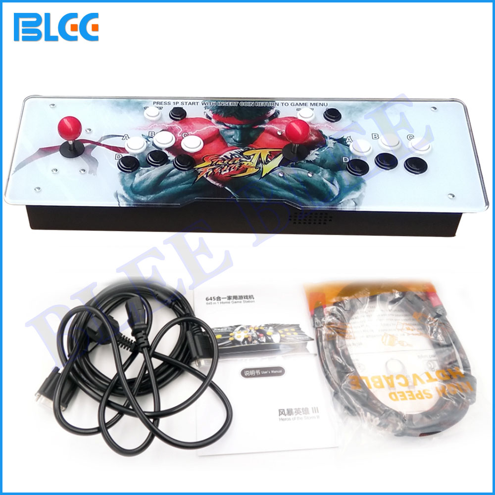 999 in 1 / 815 in 1 / 1388 in 1 Retro Arcade Gaming Console 2 Players 1299 in 1 Fighting Joystick Button kit HDMI VGA Output