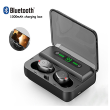 цена на Earphones Bluetooth Wireless Headphones Sport In Ear TWS Gaming Headset Noise Cancel True Wireless Earbuds with Mic for Iphone