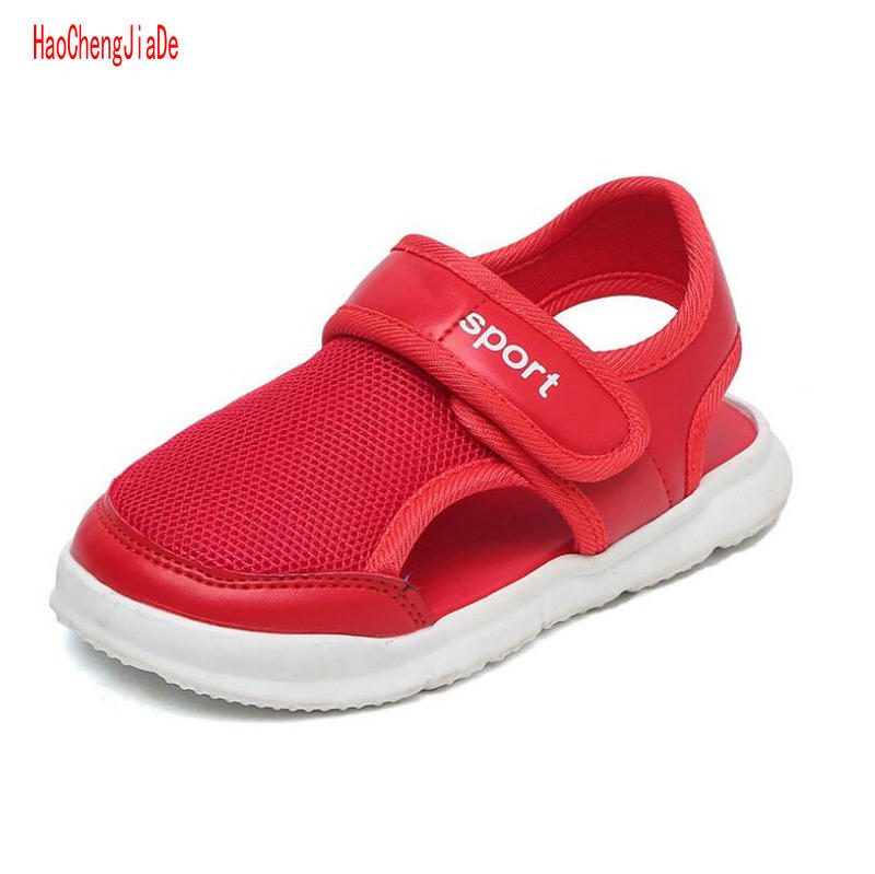 Children's Sandals Summer New Arrival Sport Sandals Closed Toe Little And Big Kids Shoes Breathable Sandals Girls Shoes 2 Colors