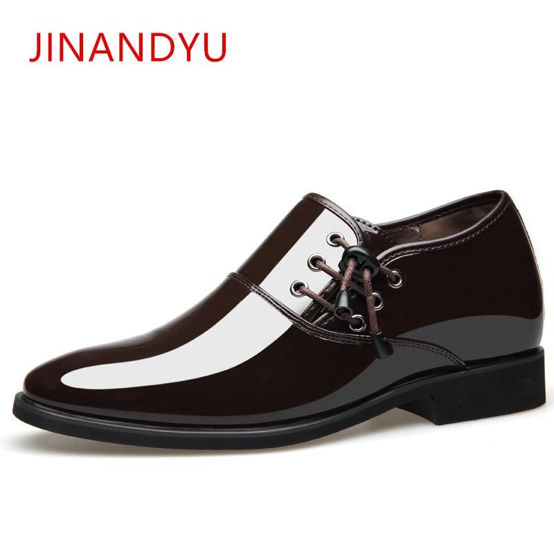 Pointed Toe Men Dress Shoe Patent