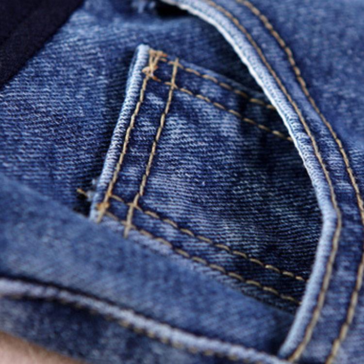 2018 New Summer Pregnant Women Shorts Jeans Holes Denim Care Belly Maternity Pants Plus Size M-3XL 88