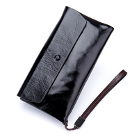 New Arrivals Large Capacity Women Wallets Premium Genuine Oil Waxing Leather Fashion Brand Multi Card Bit Female Purses 2018