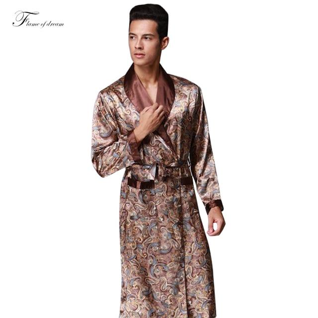 Kimono Homme Chinois Kimono Homme Robe Mens Men Bath Robe Gown Red Mens Robe 311