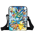 Anime Pokemon Mini Messenger Bag Kids Shoulder School Bags Boys Girls Bookbag Children cartoon Bag Schoolbags For Snacks Mochila