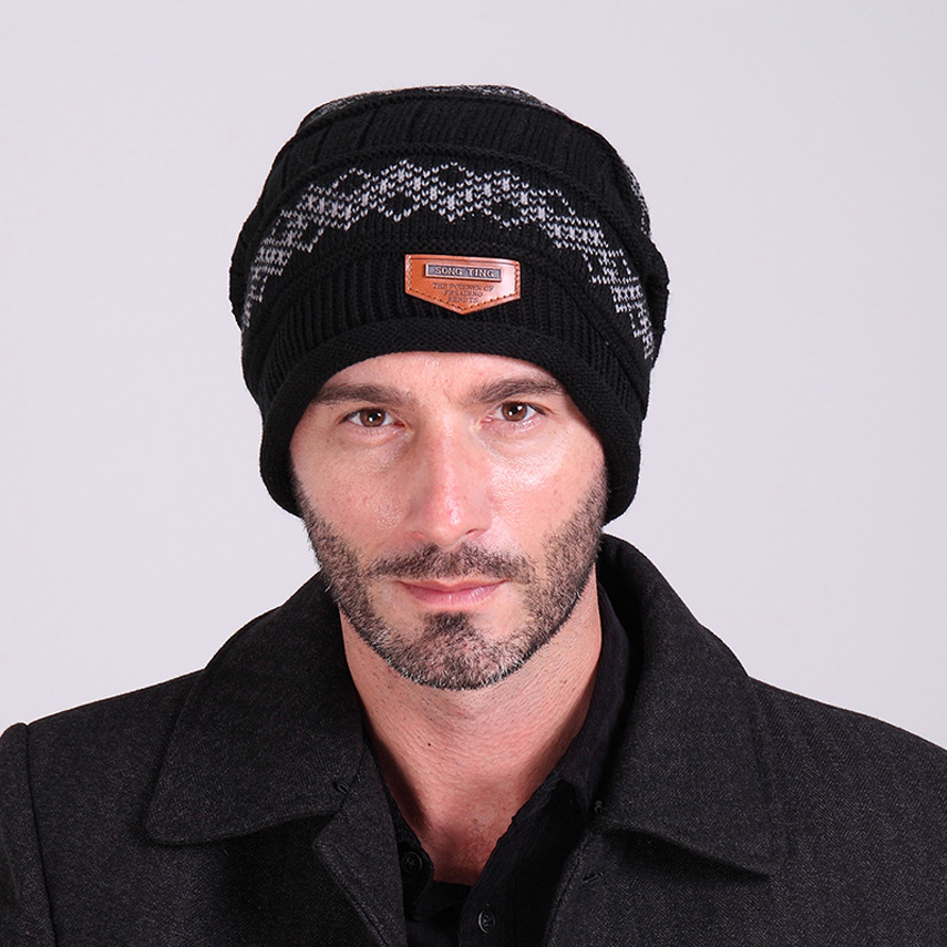 winter men hats 2015 beanies knitted hats crochet hat autumn and winter unisex knitted beanie women's winter mask beanie winter men