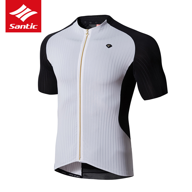 Santic 2018 Men Cycling Jersey Summer Short Sleeve Bicycle Clothing MTB Breathable Downhill DH Bike Clothes Road Ropa Ciclismo polyester summer breathable cycling jerseys pro team italia short sleeve bike clothing mtb ropa ciclismo bicycle maillot gel pad