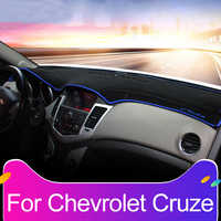Car Dashboard Avoid Light Pad Instrument Platform Desk Cover Mats Carpets For Chevrolet Cruze 2009 2013