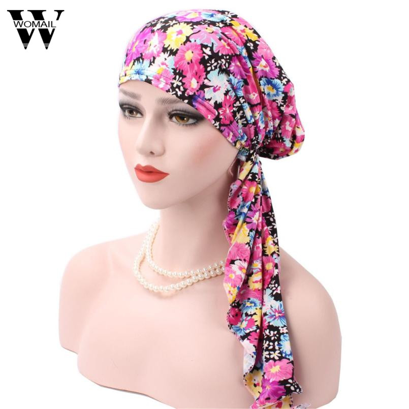 2017 Women Muslim Stretch Turban Hat Velvet Hair Loss Head Scarf Wrap C а что же случится со мной
