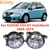 For SUZUKI SX4 GY Hatchback 2006 2014 10W Fog Light LED DRL Daytime Running Lights Car