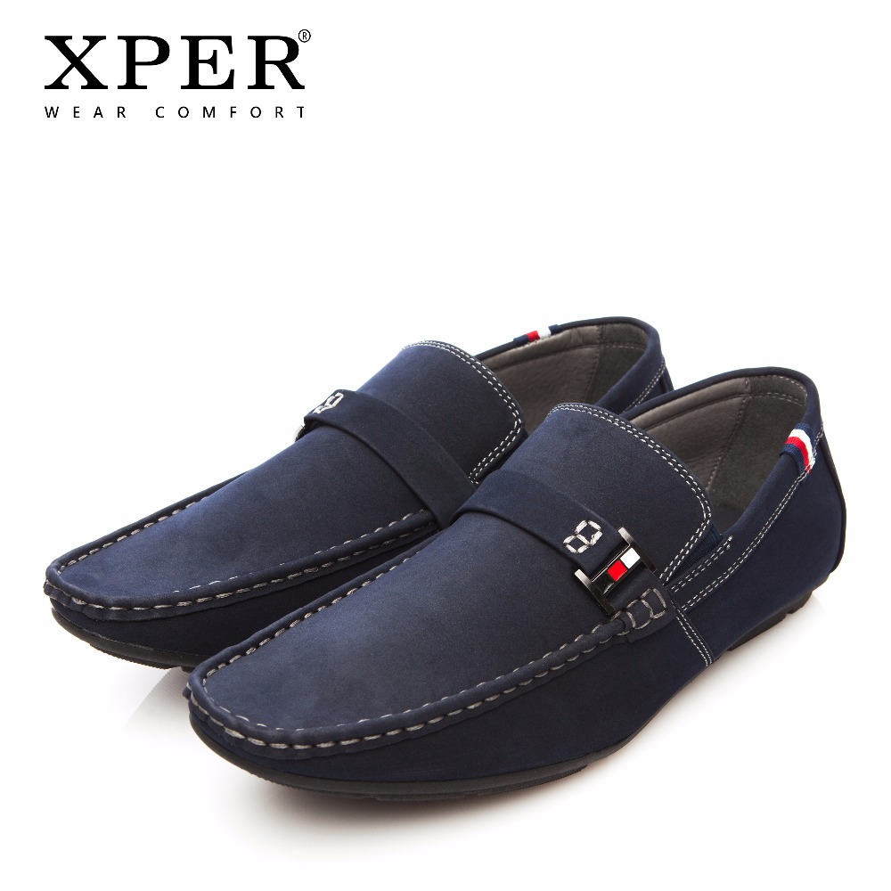 2018 XPER Brand New Men Loafers Fashion Casual Shoes Men Flats Shoes Wear Comfortable Man Walking Shoes Big Size 41-48 #CE86801 watermark an essay on venice