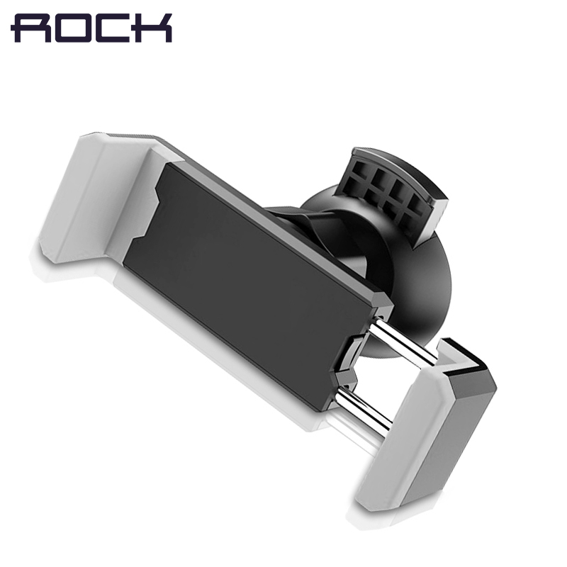 ROCK Universal Car Phone Holder For IPhone 6 8 X 7 Air Vent Mount Holder 360 Rotation Car Holder In Car Phone Holder Stand