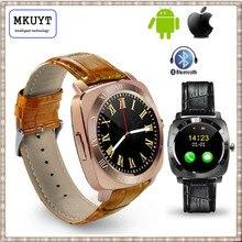 X3 Bluetooth Smart Wrist Watch Phone Mate Cell Phone Pedometer Fitness Tracker with Camera SIM TF Card Slot Universal PK DZ09