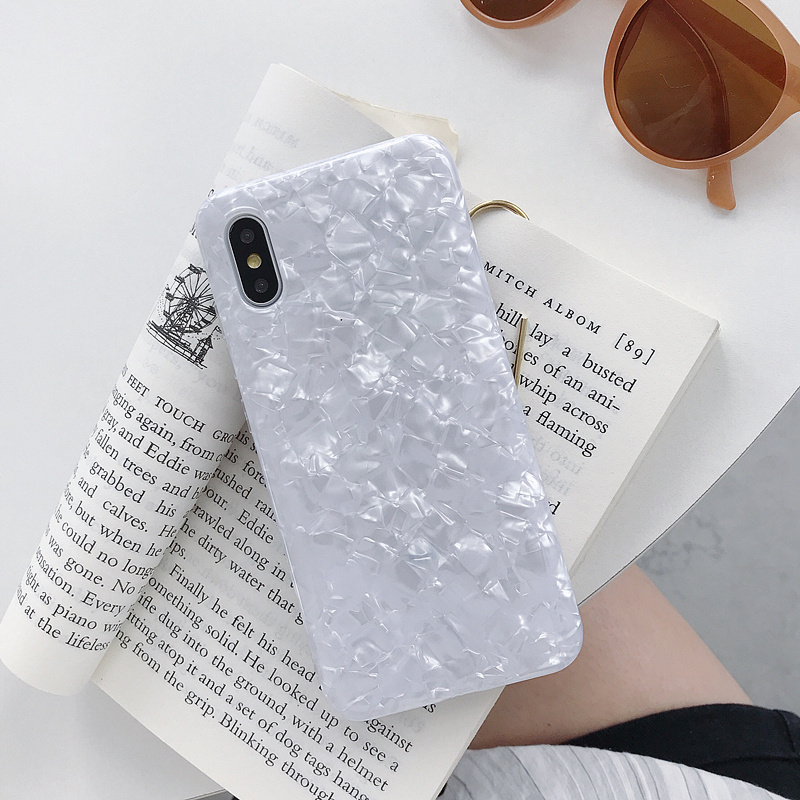 Crystal Color White Shell Case For Huawei P20 Lite Mate20 Mate 10 P30 Pro P10 Plus Honor 10 9 Lite 8X Nova 3i 3 4 Soft TPU Cover image