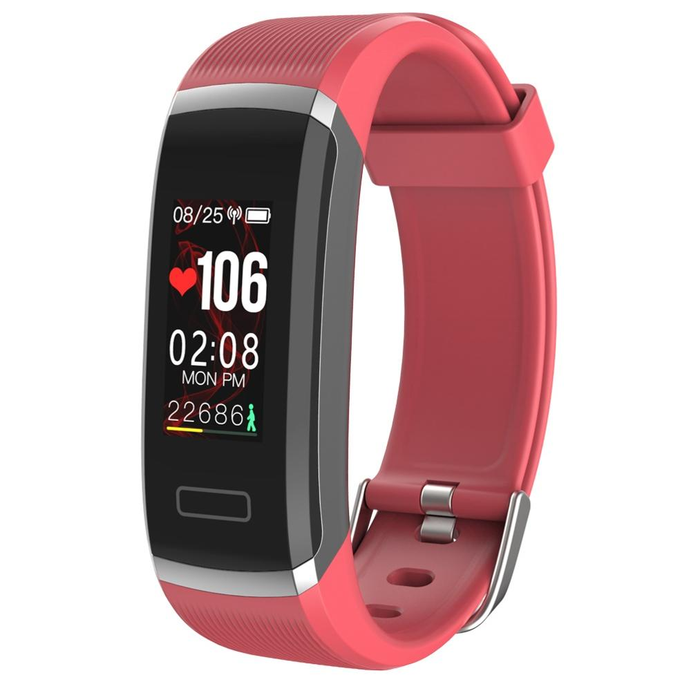 Image 4 - Smart wristband heart monitor fitness activity tracker color screen smart bracelet women men smart watch passometer tacker Hot-in Smart Wristbands from Consumer Electronics