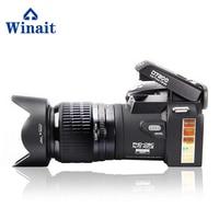 Winait поло 33 Мега пиксели Cmos Цифровые зеркальные видео камера, 24x zoom Full HD 1080p Цифровая видеокамера Бесплатная доставка