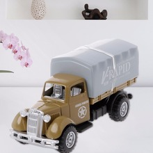Working Truck Vintage Vehicles Model Kids Playing Car Toy Roleplay Action Educational Toys