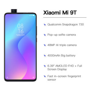 """Image 4 - Global Version Xiaomi Mi 9T 6GB 64GB Smartphone Snapdragon 730 Pop up Front Camera NFC 6.39"""" 48MP Moblie phone"""