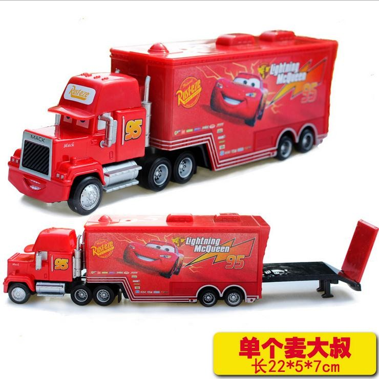 hot sale cartoon cars pixar cars truck mcqueenes diecast 155 metal toy car model