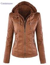Autumn Winter Leather Jackets For Women Coat Casaco Feminino Female Motorcycle Basic Jacket Punk Chaquetas Outerwear Clothing