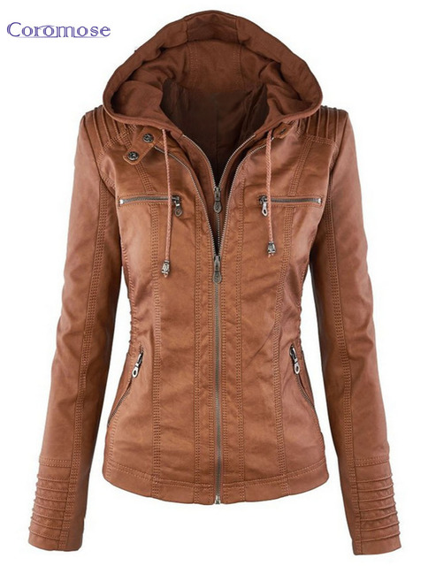 Autumn Winter Leather Jackets For Women Coat Casaco Feminino Female Motorcycle Basic Jacket Punk Chaquetas Outerwear Clothing