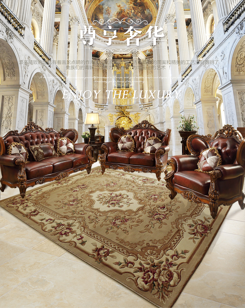 European And American Carpets 100% Wool Custom Made Thicken Carpet For Bedroom Living Room  Famous Brand 100% Wool Carpets