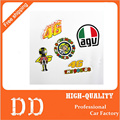5pcs/lot the doctor 46 cartoon Notebook skateboard Ipad trolley backpack Tables book decal PVC Car sticker Colorful