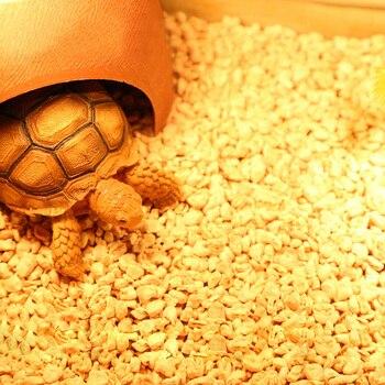 Pet Reptiles Corn Cob Coarse Substrate Bedding for Lizards Gecko Tortoises Pet Terrarium Amphibians Bedding Accessories