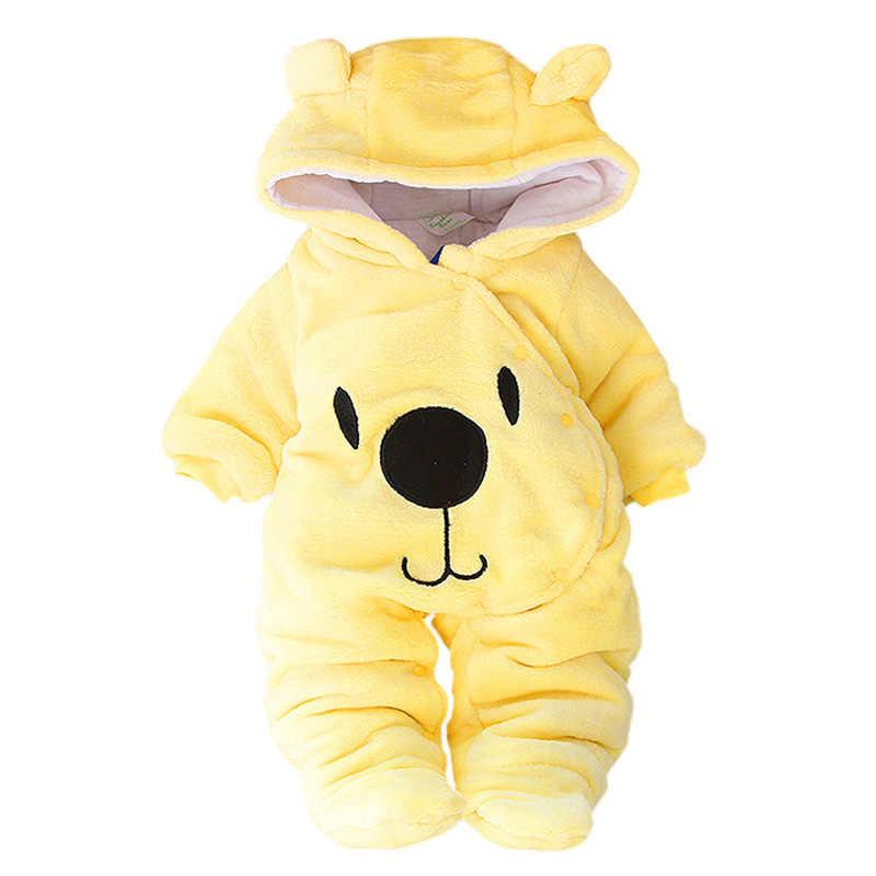 Детские Зимняя одежда для малышей, платье-комбинезон для девочек, осенняя футболка с длинными рукавами костюм для новорожденного ребенка комбинезоны для малышей для маленьких мальчиков комбинезон Одежда для младенцев