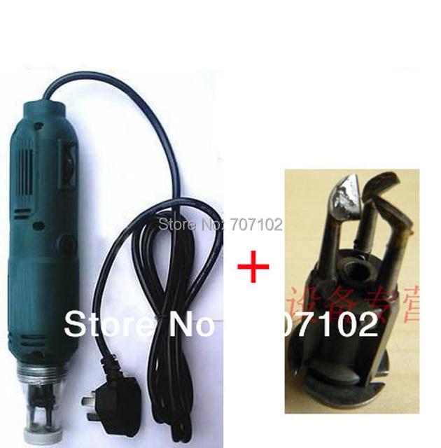 Электрический выскабливание краски машина высокое качество Провода зачистки машина для зачистки df-6 + экстрален лезвие 200 В/110 В + Великобритании /EU/США штекер