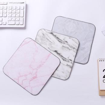 1pcs Marble Mouse Mat Office Desk Accessories Set Office Desk Organizer School Supplies Desk Tools 1